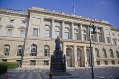 柏林洪堡大学,德国 库存照片