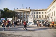 柏林洪堡大学,德国 库存图片
