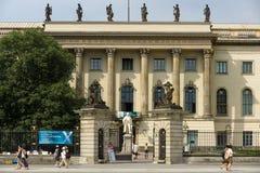 柏林洪堡大学 免版税库存图片