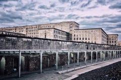 柏林围墙的遗骸 库存照片