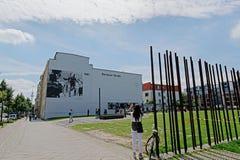 柏林围墙纪念品 库存照片