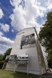 柏林围墙纪念Acker Strasse 免版税库存图片