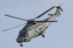 柏林- 9月11 :军事直升机NH产业NH90 NFH (3月 免版税图库摄影