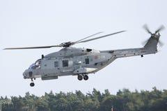 柏林- 9月11 :军事直升机NH产业NH90 NFH (3月 图库摄影