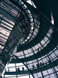 柏林- Reichstag圆顶 免版税库存图片