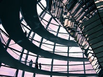 柏林- Reichstag圆顶 库存图片