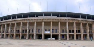 柏林` s奥林匹亚体育场 库存照片