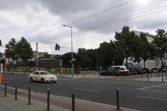 柏林Bernauer strasse著名街道  库存照片