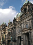柏林dom配置文件 免版税库存图片