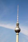 柏林fernsehturm 免版税图库摄影