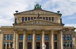 柏林gendarmenmarkt大厅音乐 免版税库存图片