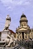 柏林gendarmenmarkt德国广场 免版税库存照片