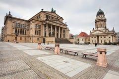 柏林gendarmenmarkt德国 免版税库存图片