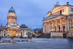 柏林gendarmenmarkt德国 免版税图库摄影