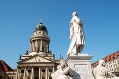 柏林gendarmenmarkt正方形 库存图片
