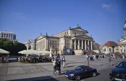 柏林gendarmenplatz 免版税库存图片