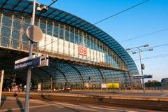 柏林hauptbahnhof 库存照片
