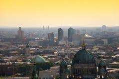 柏林platz potsdamer地平线 免版税库存照片