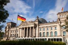柏林Reichstag 库存图片