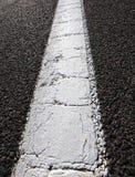 柏油路和空白线路 免版税库存照片