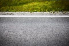柏油路的被弄脏的图片,概念性背景 免版税图库摄影