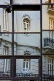 某一宫殿反射在房子里 免版税库存图片