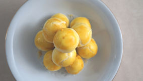 某一甜nastar (从印度尼西亚的传统乳酪蛋糕) 图库摄影