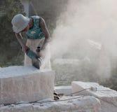 某些的现状石工作者 图库摄影