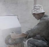某些的现状石工作者 免版税库存图片