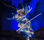 """某人回家这杨Family†的有风北京Opera""""妇女将军 免版税库存图片"""
