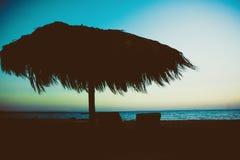 某处在洪加达,埃及,红海 免版税图库摄影