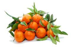 柑桔堆 免版税库存图片