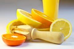 柑桔汁 免版税库存照片