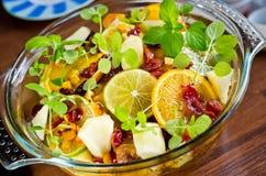 柑桔沙拉 库存图片