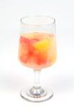 柑橘健康鸡尾酒的果子 库存图片