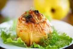 柑橘充塞用肉 免版税库存照片
