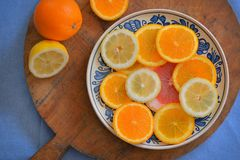 柑橘新鲜水果 库存图片