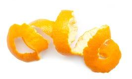 柑橘果皮橙色转弯  免版税库存照片