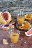 柑橘汁 库存图片