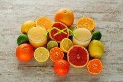 柑橘静物画 图库摄影