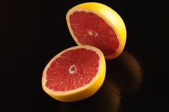 柑橘静物画 库存图片