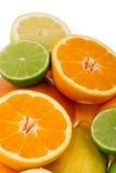 柑橘水果柠檬石灰桔子 库存图片