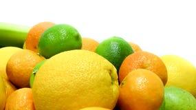 柑橘水果柠檬石灰桔子 图库摄影