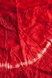 染料红色丝绸纹理关系 库存图片
