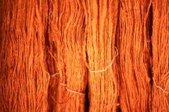 染料纤维丝绸 库存图片