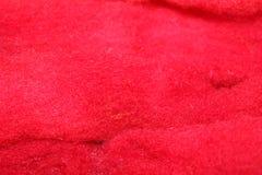 洗染的绵羊羊毛 免版税图库摄影
