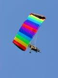染色天空 库存照片