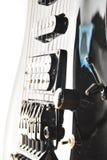 染黑吉他 免版税库存图片
