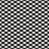 染黑方格的模式白色 库存图片