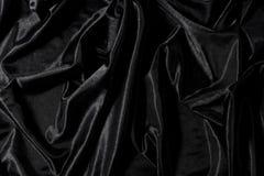 染黑缎 库存图片